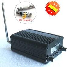 1/комплект 1 Вт/7 Вт fm-передатчик радиостанции аудио конвертер Встроенный PLL частота+ маленькая антенна