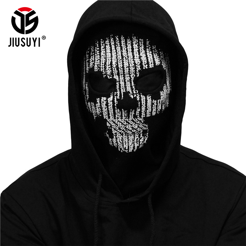 Watch Dogs 2 Hacker Skull Game Skeleton Ghost Cosplay Balaclavas Tactical Holloway Paintball Winter Full Face Mask Windproof