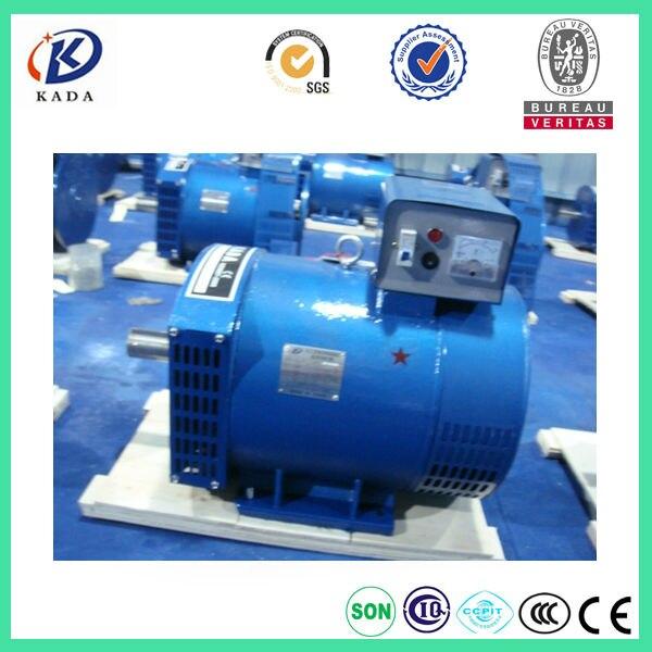 St 10hp Single Phase Brush Alternator 7 5kw Dynamo