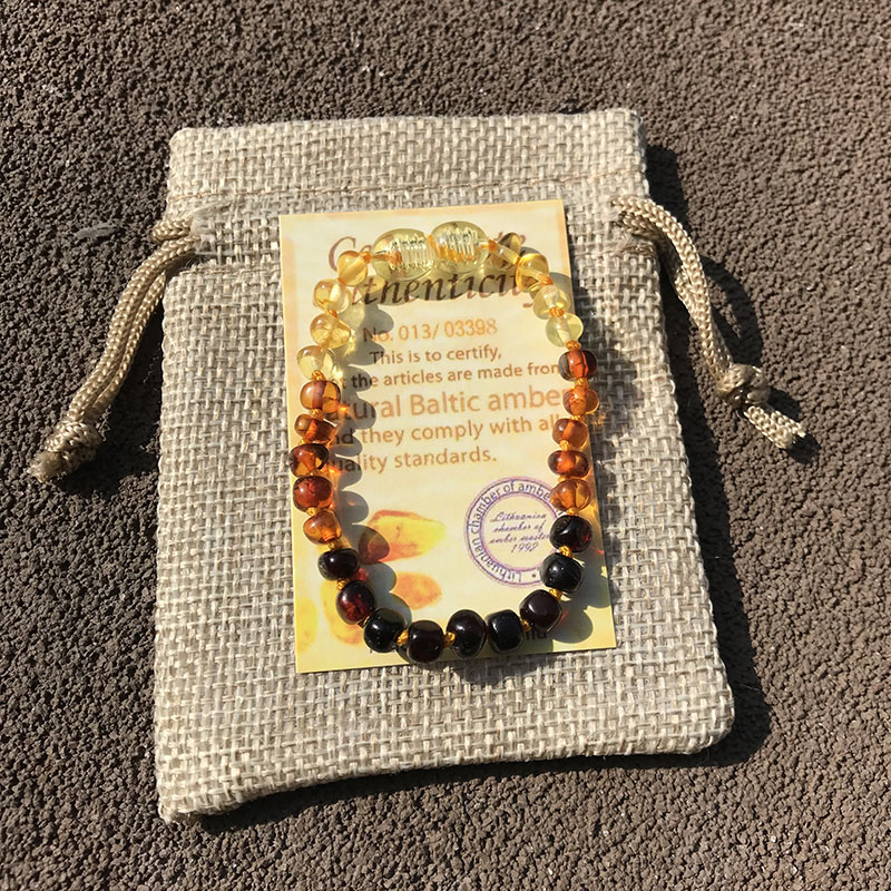 Yoowei 6 Colors Natural Amber Bracelet Anklet Chic Women Amber Bracelet Baltic 4mm Small Beads Baby Yoowei 6 Colors Natural Amber Bracelet/Anklet Chic Women Amber Bracelet Baltic 4mm Small Beads Baby Teething Jewelry Wholesaler
