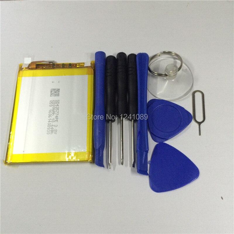 100% סוללה מקורית סוללה 2800 mAh vernee thor 5.0 אינץ MTK6753 + כלי לפרק טלפון נייד זמן המתנה ארוך סוללה