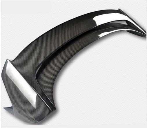 Un tout nouveau aileron d'aile arrière en Fiber de carbone, becquet de coffre pour mazda 3 Axela hatchback