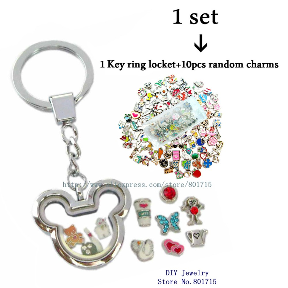 living lockets closure floating shoes memory keychain jewelry bling key magnetic glass stars com ring charm dp amazon