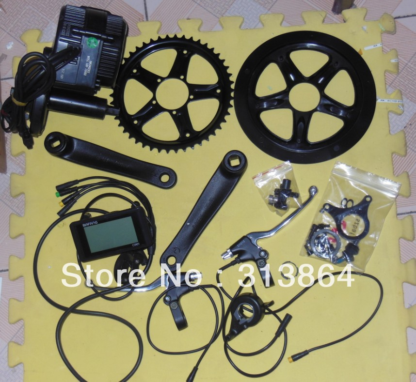 New model 8fun bafang central drive motor 48Volt 750W complete kit for coverting electric bicycle