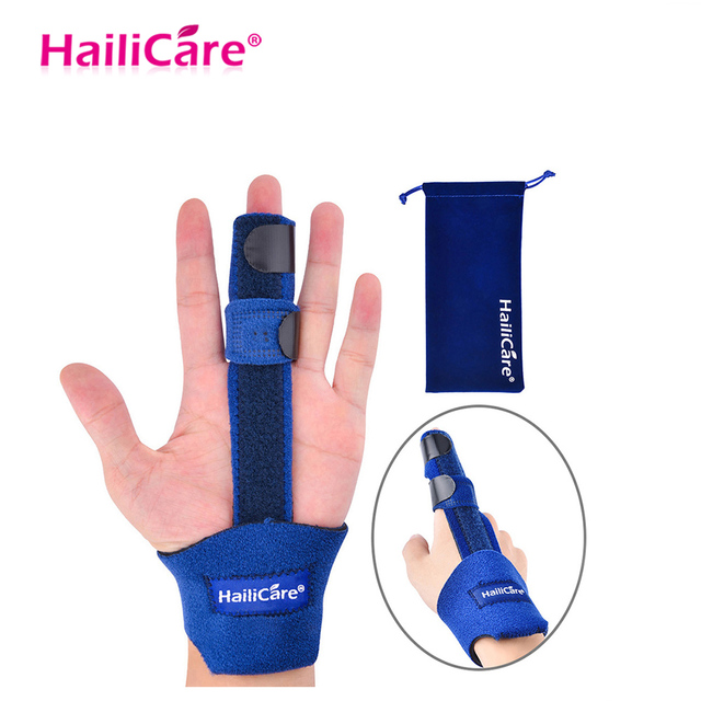 Adjustable Finger Corrector Brace Stabilizer Guard Support Splint Arthritis Tendonitis Sprained Pain Relief Rehabilitation Belt