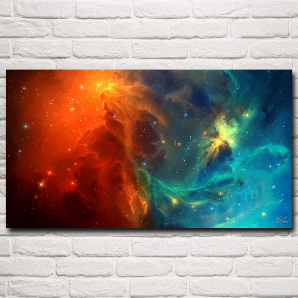 compare prices on nebula galaxy art print online shopping buy low space nebula stars galaxy artwork art silk poster prints home wall decor pictures 11x20 16x29 20x36
