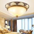 Европа Домашнее освещение светильники Led освещение для комнаты гостиной Потолочные светильники отель потолочная лампа 85-265V поверхностное ...