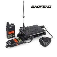 Baofeng Mini Mobile Car Transceiver 20 Channels UHF 400~470Mhz 15W Transmit Power iechle Radio & 2 Mini Handheld Walkie Talkies