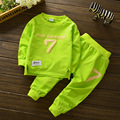 Spring Autumn Cotton Baby Clothing Set Long Sleeve T Shirts + Pants Infant Boy Girl Set Kids Clothes Tracksuits Children Clothes