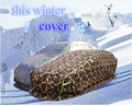 OTLEY зимний защитный чехол для автомобиля  уплотненный с хлопком  водонепроницаемый  защита от снега  защита от града  выдерживает-40 градусов ...