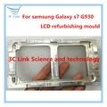 1 шт. плесень алюминиева формы для Samsung Galaxy S7 G930F g930 ремонт жк-форм внешний экран плесень бесплатная доставка