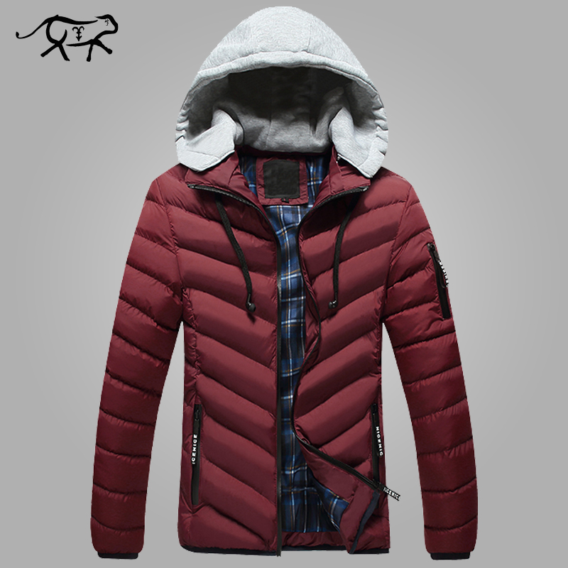 Подробнее о Brand Winter Jacket Men Fashion New Arrival Casual Slim Cotton Thick Mens Coats Parkas With Hooded Warm Overcoats Clothing Male new arrival winter jacket men fashion brand clothing casual jackets and coats for male warm thick cotton pad men s parkas m 4xl