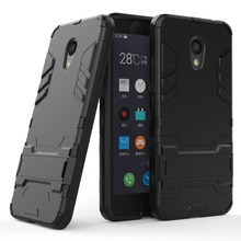 for Meizu M5C Case PC+TPU Armor Shockproof Stand Silicone Phone Back Cover for Meizu Note3 M5 Case M5S MX5 pro MX6 M6 Note 5Note meizu mx5 16gb