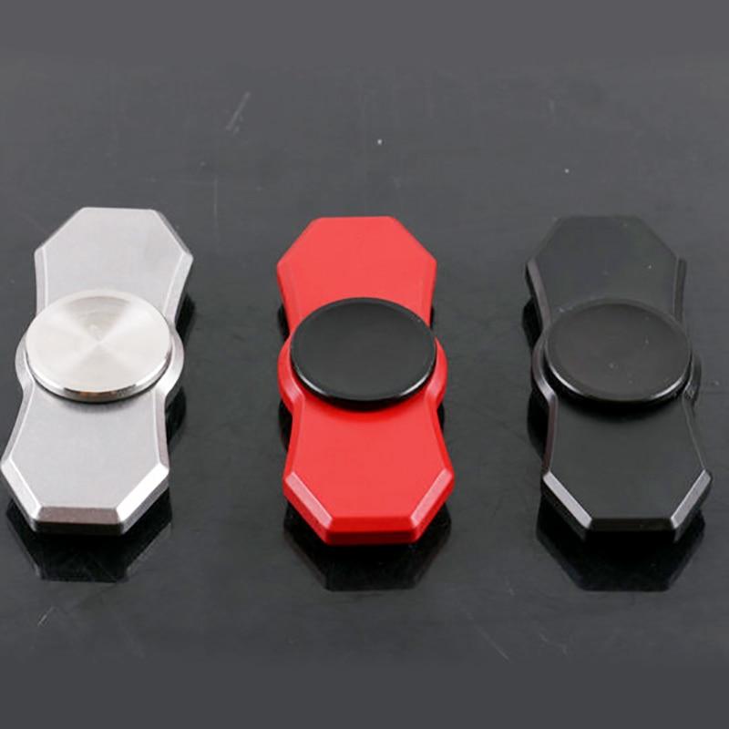 nova mao spinner fidget edc girador de alta qualidade metal aco fidget spinner padrao dedo para