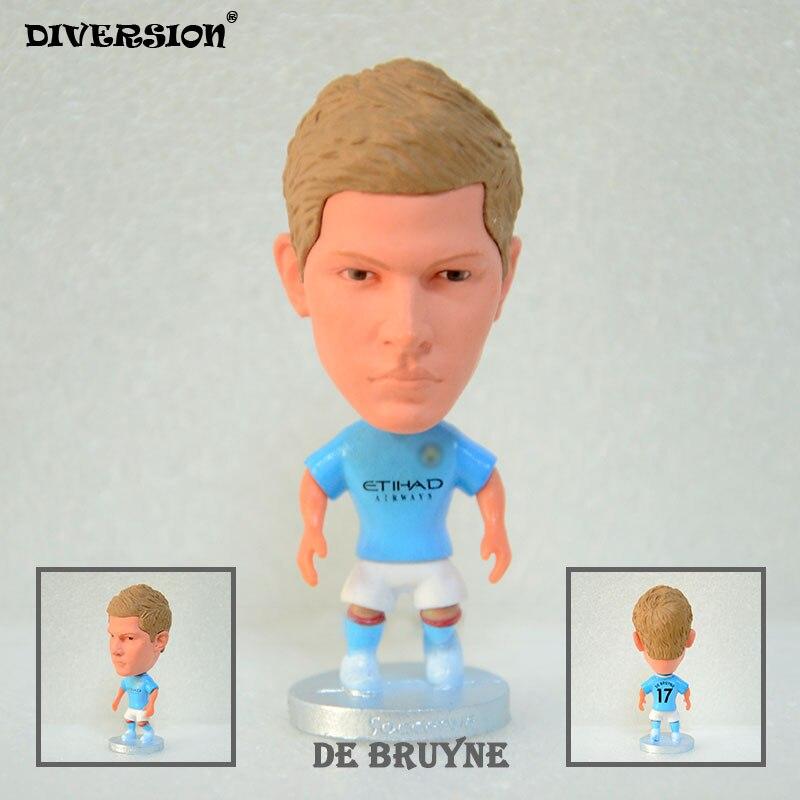 Soccer Star footballer figure 17# DE BRUYNE (MC-2018) 2.5 Action Dolls Figurine soccerwe