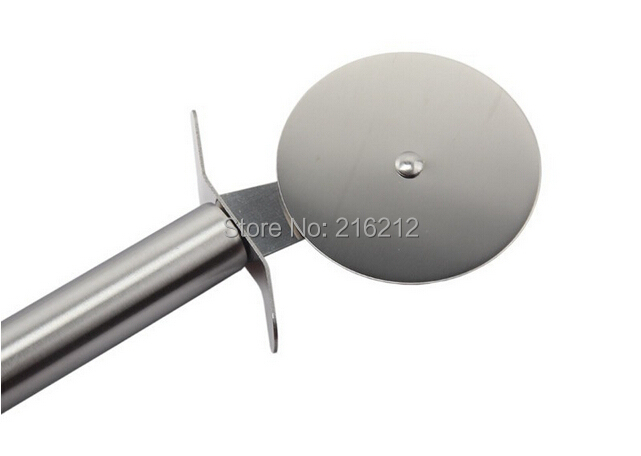 240 pcs Fashion Hot Single head Stainless steel Pizza cutter Pizza knife Bakeware Pizza tools cake tools