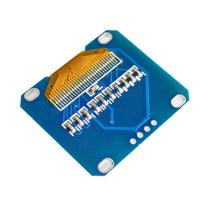 "Image 3 - 5PCS/LOT 1.3"" OLED module white or blue color 128X64 1.3 inch OLED LCD LED Display Module 1.3"" IIC I2C Communicate"