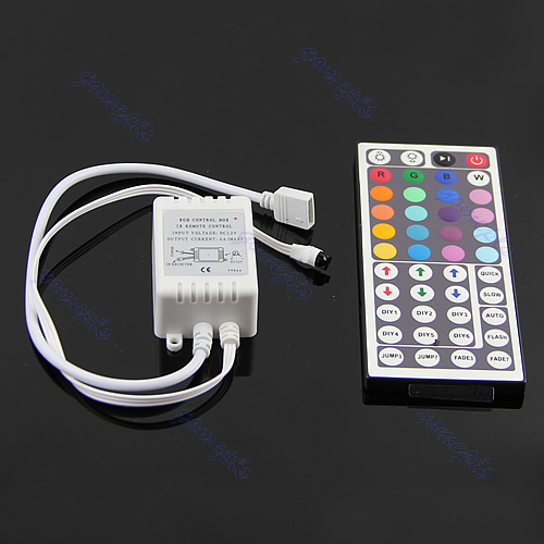 IR Remote Controller Wireless 3/24/44 Keys For 3528 5050 SMD LED RGB Strips