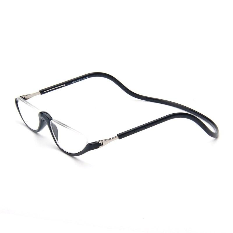 Unisex Magnete Occhiali Da Lettura Uomini e Donne Regolabile Attaccatura del Collo Magnetico Anteriore Rim Occhiali Da Lettura