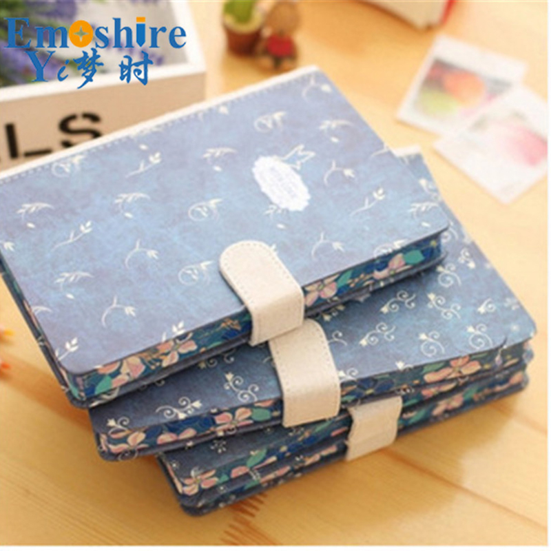 Wholesale Creative Notebook Literary Retro Custom Logo Diary Book Notebook Notepad Leather Note Book Memo Pad for Writing N190 emoshire 4 set of notebooks stationery creative gift bag chinese style retro memo pad diary note book notepad n059