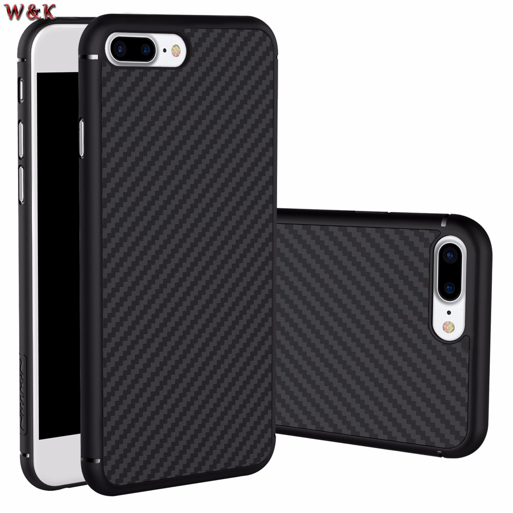 For iPhone 6 6plus 6s 6splus 7 7plus case Nillkin synthetic fiber phone case Hard Carbon
