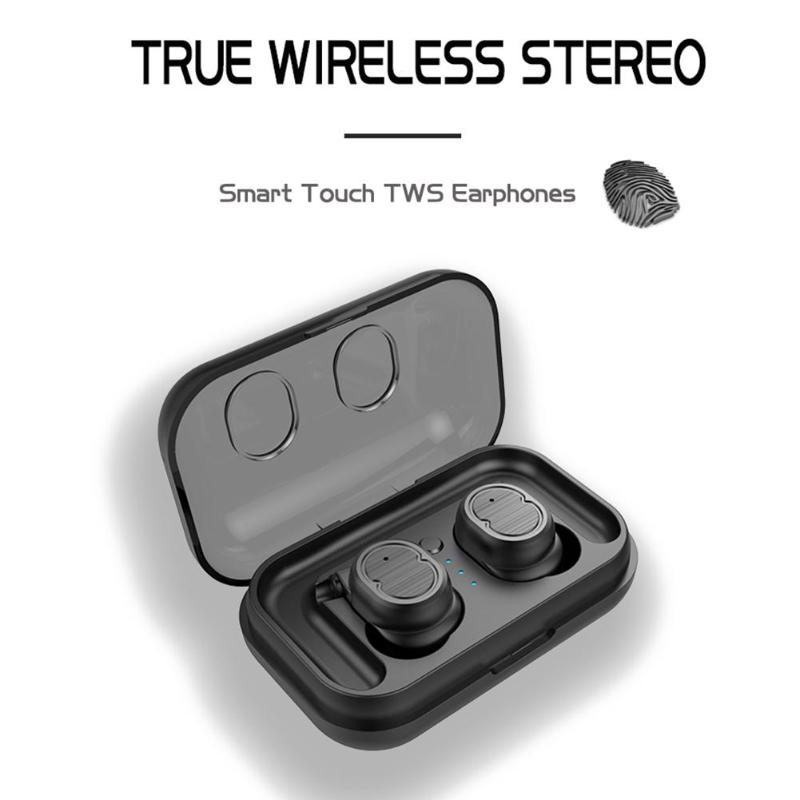 <font><b>T8</b></font> <font><b>TWS</b></font> Touch Control Bluetooth 5.0 Earphone Wireless Sports Mini Headset Earphones image
