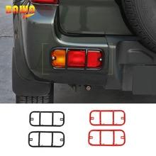 BAWA Lamp Hoods for Suzuki Jimny 2007-2017 Metal Rear Fog Light Cover jimny Car Accessories