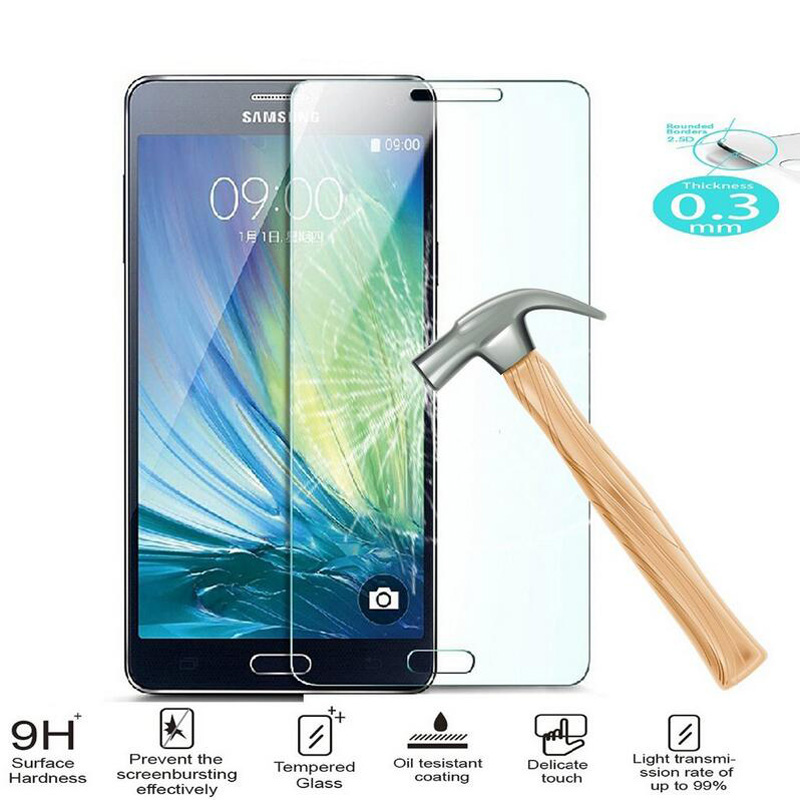 2.5D 9H Tempered Glass Screen Protector For Samsung Galaxy J5 J7 J1 mini J3 2016 A3 A5 S6 S5 S3 Grand Prime Case Toughened Film