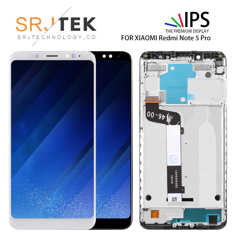 10-Touch AAA Quality LCD+Frame For Xiaomi Redmi Note 5 Pro LCD Display Screen Replacement For Redmi Note 5 LCD Snapdragon 63610-Touch AAA Quality LCD+Frame For Xiaomi Redmi Note 5 Pro LCD Display Screen Replacement For Redmi Note 5 LCD Snapdragon 636