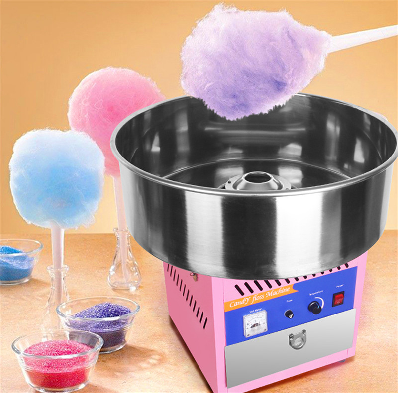 HTB1xvvbcu3tHKVjSZSgq6x4QFXa1 - Free shipping smaller table cotton candy machine small machine make big business cotton floss machine