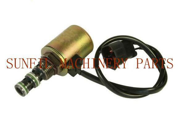 Excavator Rotating Solenoid Valve PC200-6 6D95 708 2l 04532 excavator main valve for komatsu pc250lc 6