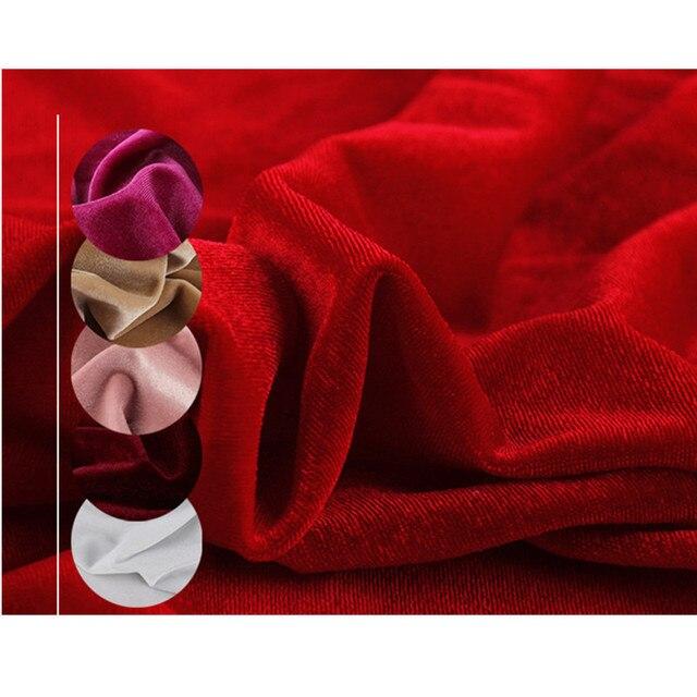 23 Цвета стрейч-бархатная ткань велюровая спандекс ткань для платья занавески куклы шитье трикотажные ткани шелковая шаль pleuche ткань