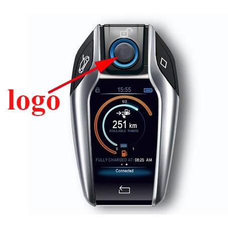 5piece 11mm Diameter Car Key Logo, Metal Car Remote Key Badge, 11mm Car Key Badge Sticker