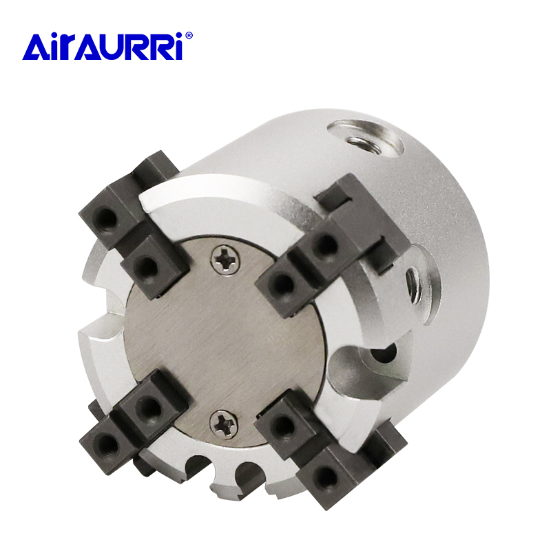 4 Finger Double Action Rotating Cylinder MHS4 16D 20D 25D 32D 40D 50D 63D 80D 100D 125D Parallel Style Air Gripper Bore 16 125m