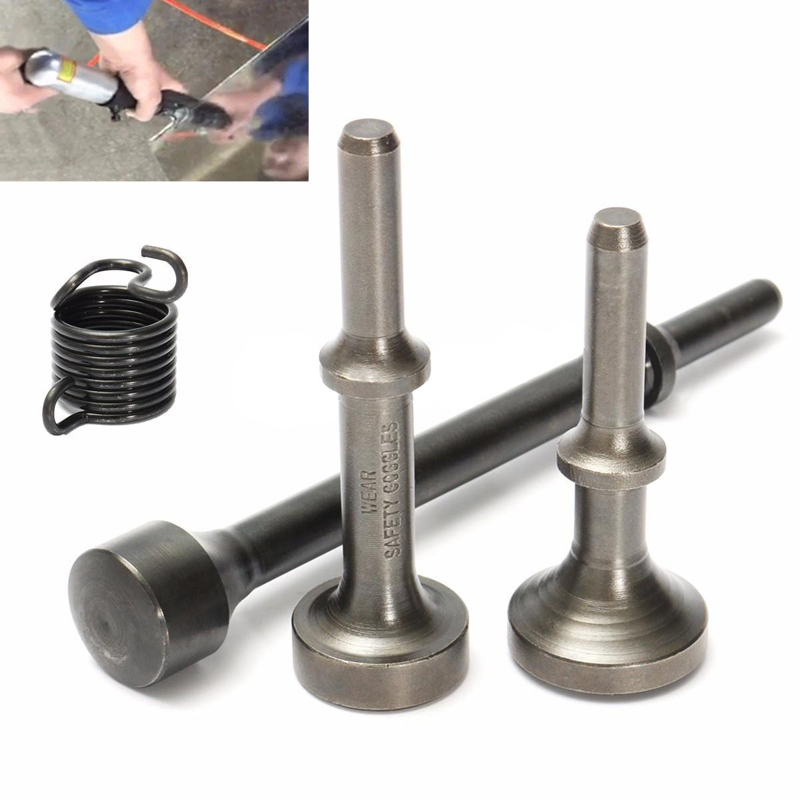 3pcs Smoothing Pneumatic Air Hammer Bits +1pc Spring Air Pneumatic Tools for Car Tire Repair Tools цена 2017