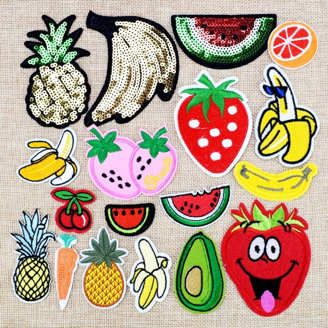 DIY Fruit Patches For Clothing