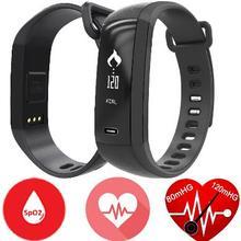 Новый Смарт-Браслет М2 Фитнес Группа артериального давления крови Кислородом сердца ритма Смарт-браслет для ios android PK mi группа 2