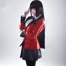 Anime Kakegurui Yumeko Jabami Cosplay Costumes Japanese School Girls Uniform Full Set jack