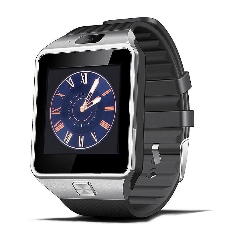 Smart Watch Clock With Sim Card Slot Push Message Bluetooth Connectivity Android Phone DZ09 Smartwatch Men Watch SMART CLOCK+Box