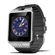 Smart Watch Clock With Sim Card Slot Push Message Bluetooth Connectivity Android Phone DZ09 font b