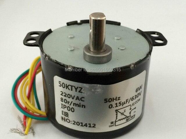 Reversible Ac Motor Wiring Diagram Car Door Lock Parts 50ktyz Synchronous 110v 220v Gear