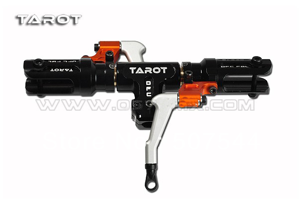 Tarot 500 DFC Split Lock Rotor Head Assembly Black TL50900-1 free shipping with tracking tarot tl50130 500 flybarless metal linkage rods tarot 500 parts free shipping with tracking
