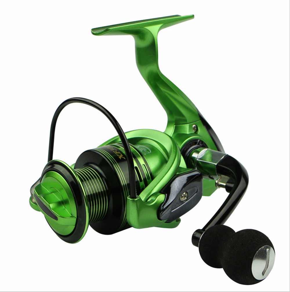 NEW HOT SALES XF7000 FOR BIG FISH Ocean inshore Fresh saltwater ICE FLY CARP spinning reel 14 Ball Bearing LARGE EVA KNOB