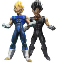 Esboço 26 centímetros Anime Dragon Ball Z Vegeta Action Figure PVC Brinquedos Figuras de Ação De Dragon Ball Z Super Saiyan Vegeta modelo Bonecas(China)