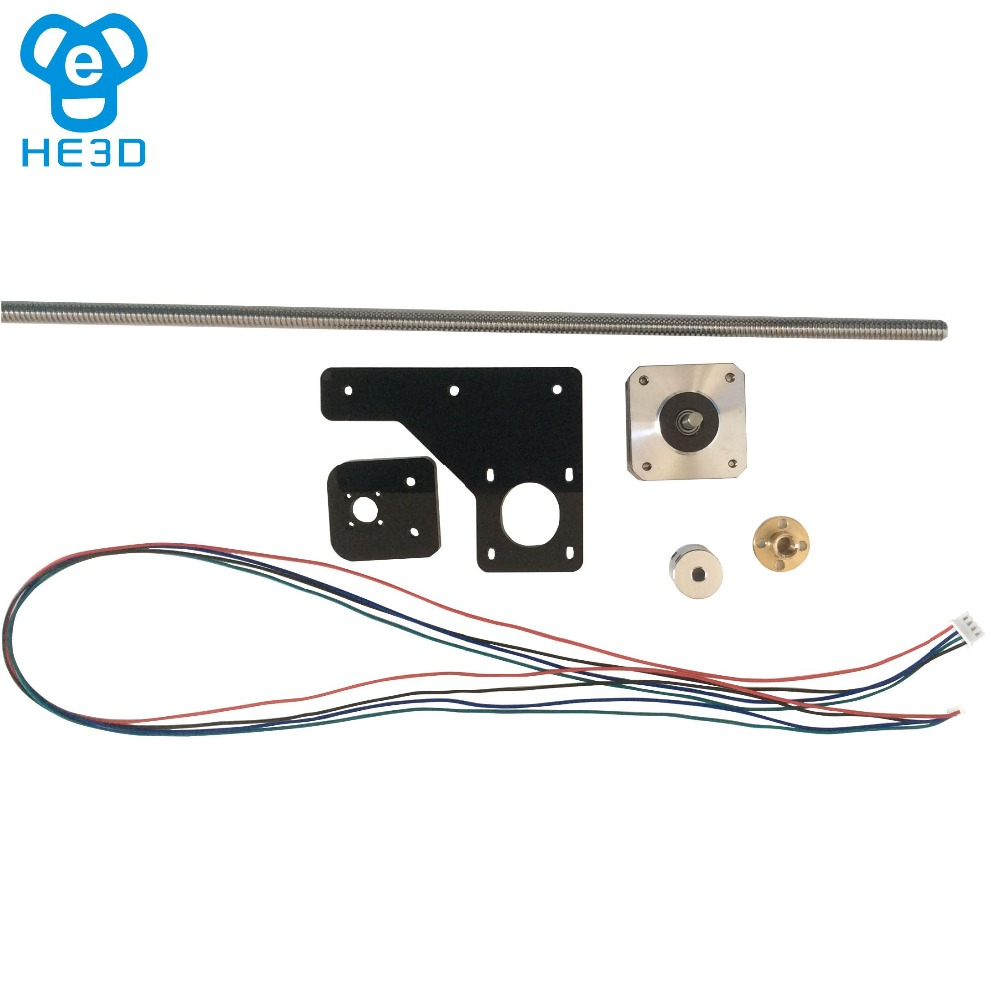 Dual Z axis upgrade kit for HE3D EI3 DIY 3D printer