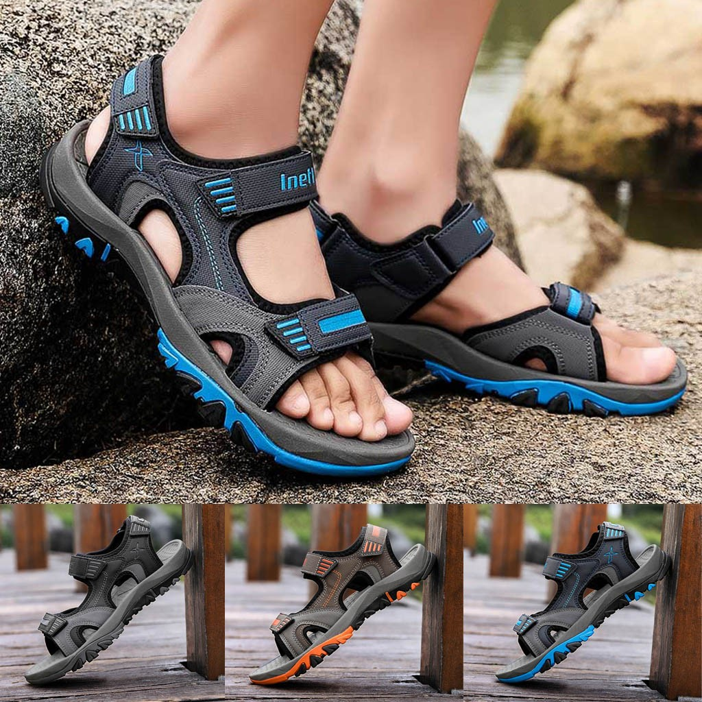 Professional Sale Sandalias Hombre Real 2019 New Male Eva Cave Shoes Mens Clog Slipper High Quality Breathable Clogs Mens Sandals Erkek Ayakkabi Men's Shoes