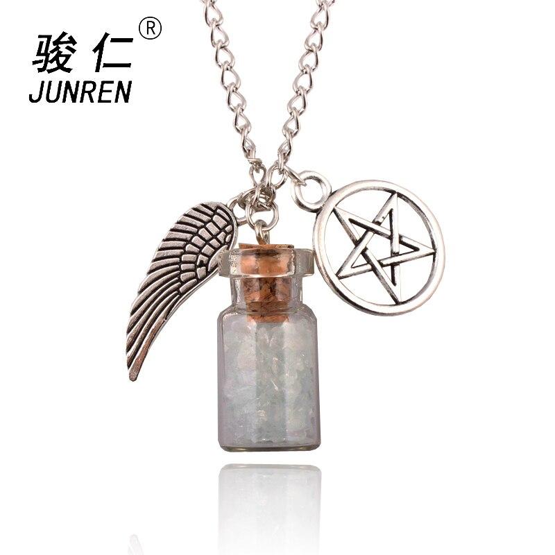 1 шт., цепочка с подвеской в виде крыла ангела