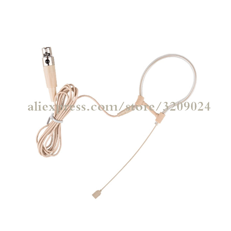 Consumer Electronics Enthusiastic Skin 4pin Xlr Ta4f Ear Hook Hanging Headset Microphone For Shure Ulx Slx Pgx Ut Kcx Blx Glx Wireelss Mic Bodaypack Transmitter