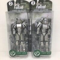 16 cm Deux Couleurs Fallout 4 PVC Action Figure Puissance Armure SOLITAIRE Errent Sur Les Vêtements Jouets Cadeaux Collections Displays Brinquedos