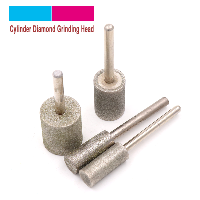 uxcell 12 Pcs 10mm Dia Head Metal Shank Grinding Polishing Mounted Points